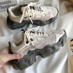 SouthBay Shoes(サウスベイシューズ) - Platform Chunky Sneakers