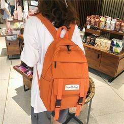 Sosara - Buckled Nylon Backpack