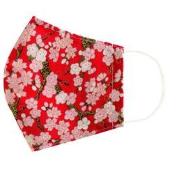 Miumi - Handmade Cotton Mask Cover (Sakura Print)(Adult)