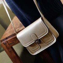 Cachet - 饰缝线细节单肩包