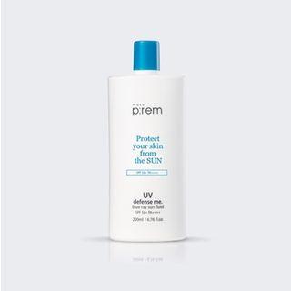 make p:rem - UV Defense Me. Blue Ray Sun Fluid SPF50+ PA++++ 200ml