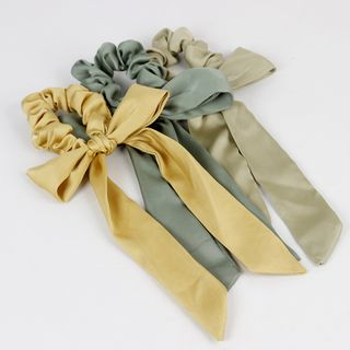 Sesori - Satin Bow Scrunchie