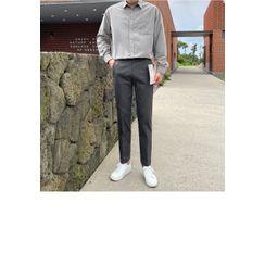 JOGUNSHOP(ジョグンショップ) - Straight-Leg Dress Pants