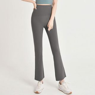 Seoul Fashion(ソウルファッション) - Boot-Cut Sports Pants