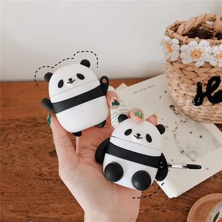 Phone in the Shell - Coque de protection panda pour AirPods