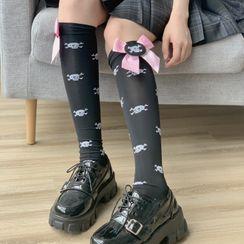 Sayaka - 骷髅头袜子