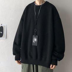 JUN.LEE - Plain Oversize Pullover