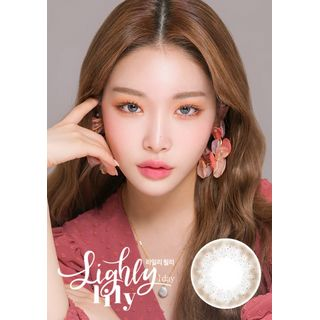 LENS TOWN - Lighly Lily 1-Day Color Lens #Gray
