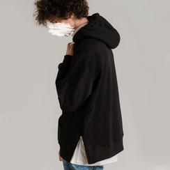 Newin - Oversized Zipper-Side Hoodie