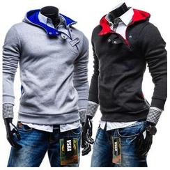 Hansel - Fleece-Lined Hooded Pullover
