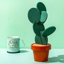 Cutie Bazaar - Cactus Coaster