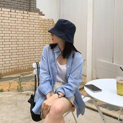 UPTOWNHOLIC - Cotton Bucket Hat