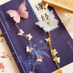 KOSUKE - 蝴蝶吊坠发夹
