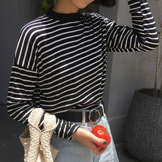 Champi - Striped Long-Sleeve T-Shirt