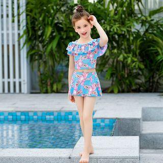 Charmaine - Kids Swim Top / Swim Skirt / Swimsuit / Swimming Cap / Set