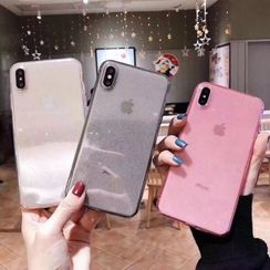 Cellfie - Transparent Phone Case - iPhone 6 / 6s / 6 Plus / 6s Plus / 7 / 7 Plus / 8 / 8 Plus / X / XR / XS / XS MAX