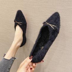 My Meow - 毛毛平跟鞋