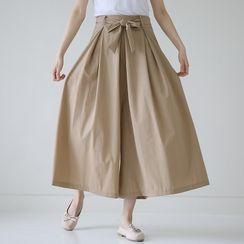 Lemite - Maxi Culottes with Sash