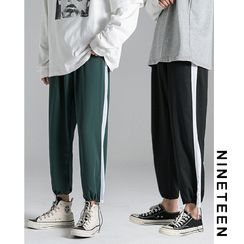 Bay Go Mall - Colored Panel Harem Pants