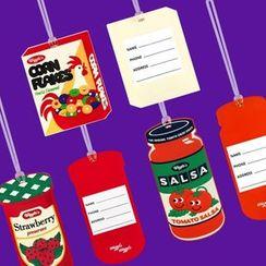 Full House - 食物卡通行李挂牌