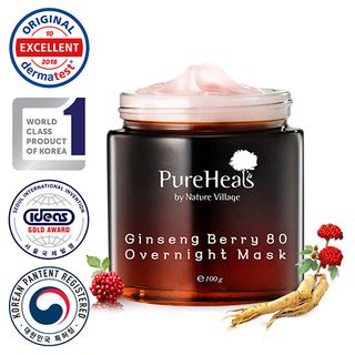 Pure Heals - Ginseng Berry 80 Overnight Mask