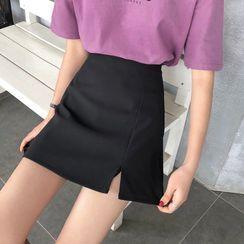 Sisyphi - A-Line Mini Skirt