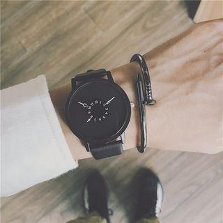 InShop Watches(インショップウォッチズ) - Faux Leather Strap Watch