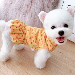 Mily Pets - Floral Print Pet Dress
