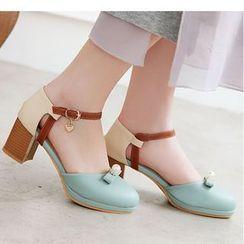 Freesia - 双色调踝带奥赛鞋