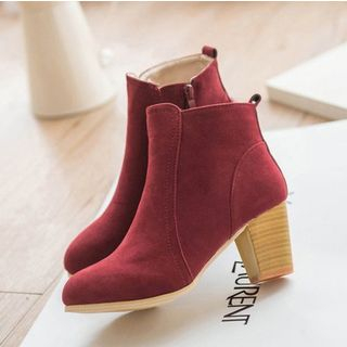 Shoeland - 粗跟及踝靴
