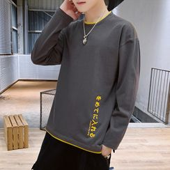 KOKAY - Lettering Long-Sleeve T-Shirt