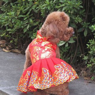 Fuminsho - Cheongsam Pet Dress