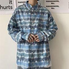 Banash - 長袖條紋襯衫