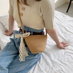KOCORE - Woven Bucket Bag
