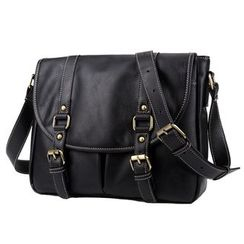 TESU - Faux Leather Satchel