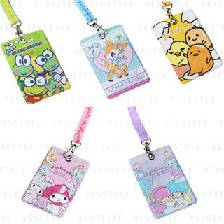 Sanrio - Card Holder With Neck Strap 1 pc - 11 Types