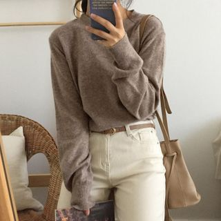 Ashlee - Crew-Neck Sweater