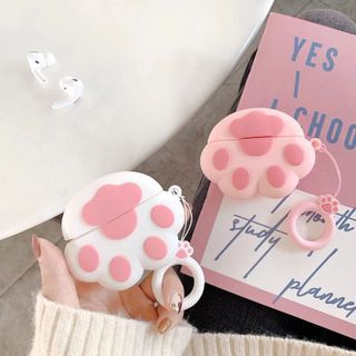 Edgin - Cat Paw Print AirPods Earphone Case Protection Cover