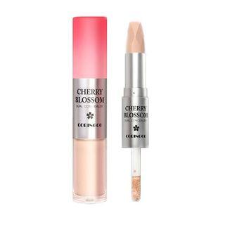 CORINGCO - Cherry Blossom Dual Concealer (#21 Light Ivory)