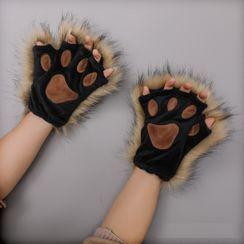 Kentekky - Fluffy Cat Paw Gloves