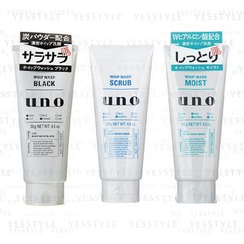 Shiseido - Uno Whip Wash 130g - 3 Types