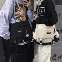 Porstina(ポルスティナ) - Paneled Buckled Flap Backpack
