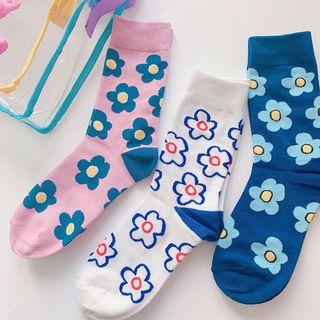 Hello minto - Floral Socks