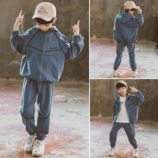 Pegasus - Kids Set: Hooded Zip Jacket + Sweatpants
