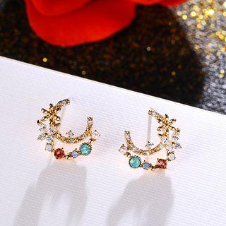 LIVSIA - Rhinestone Stud Earring
