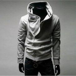 Aozora - Side-Zip Hooded Jacket