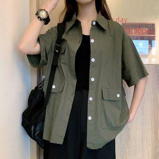 Costana - 短袖工装衬衫