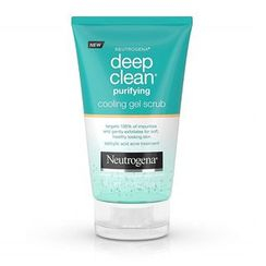 Neutrogena - Deep Clean Purifying Cooling Gel Scrub