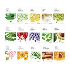 THE FACE SHOP - Variety Pack - Real Nature Face Mask - 15 Types
