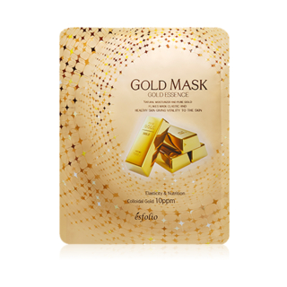 esfolio - Gold Essence Mask 10pcs